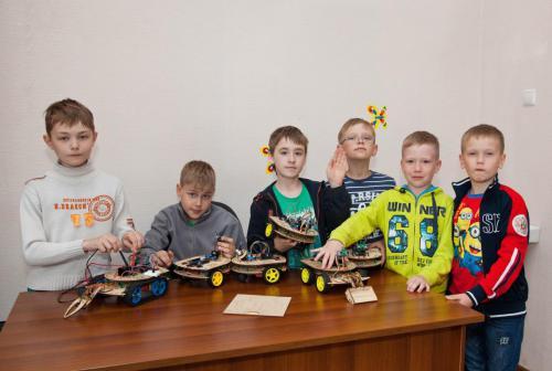 Робототехника для детей РосРобот 17