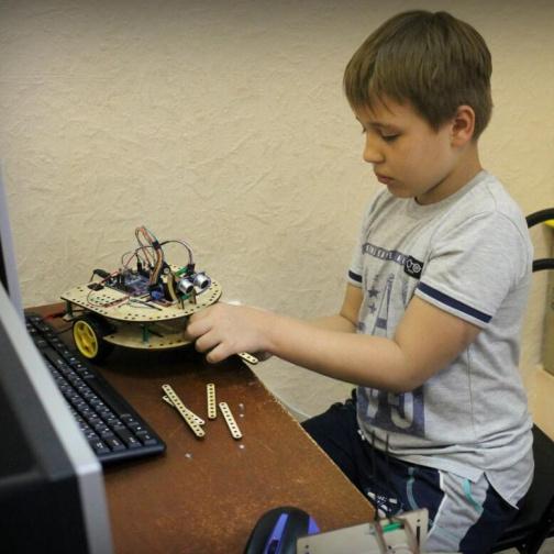 РосРобот - Занятия по робототехнике 1