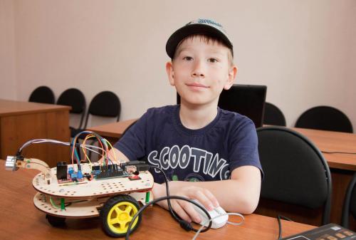 Робототехника для детей РосРобот 11