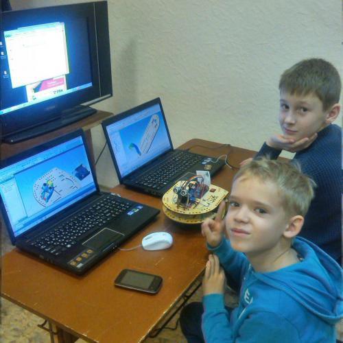 Робототехника для детей РосРобот 35