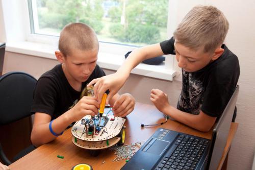 Робототехника для детей РосРобот 73