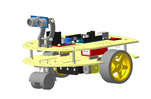 Робототехнический конструктор РосРобот 21